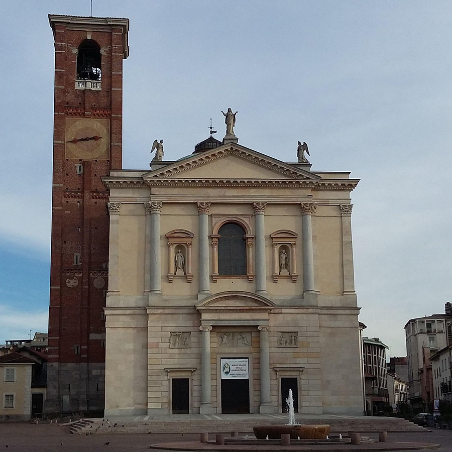 Mazzini Square & Church Square - Casorate Sempione, Italy